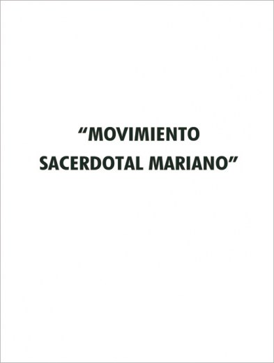 Movimiento Sacerdotal Mariano (Folleto) - Letra D